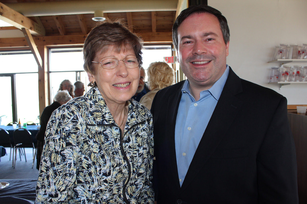 Jason Kenney Visits Cobden