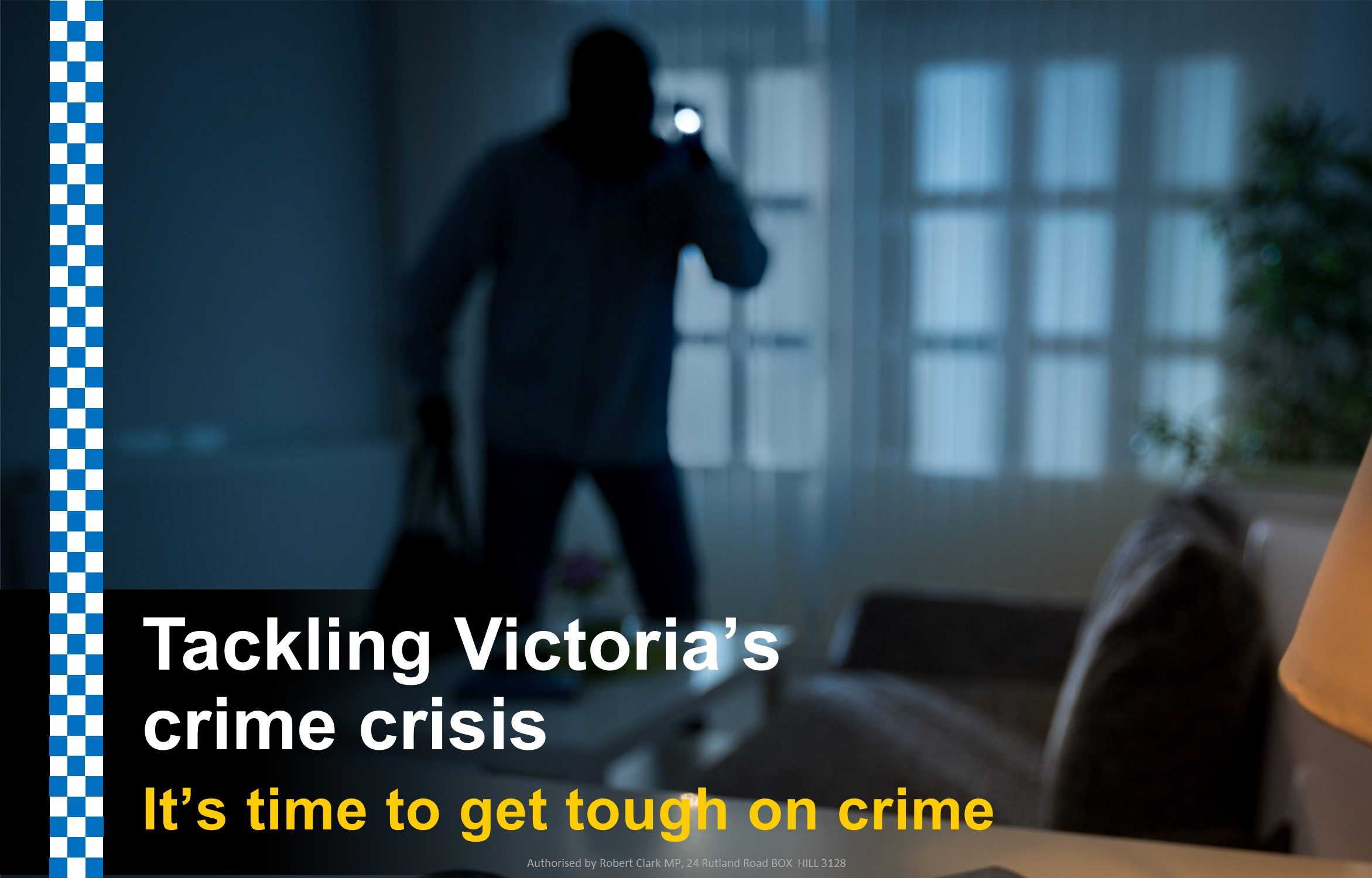 It's time to get tough on crime - the Liberal Nationals' solutions