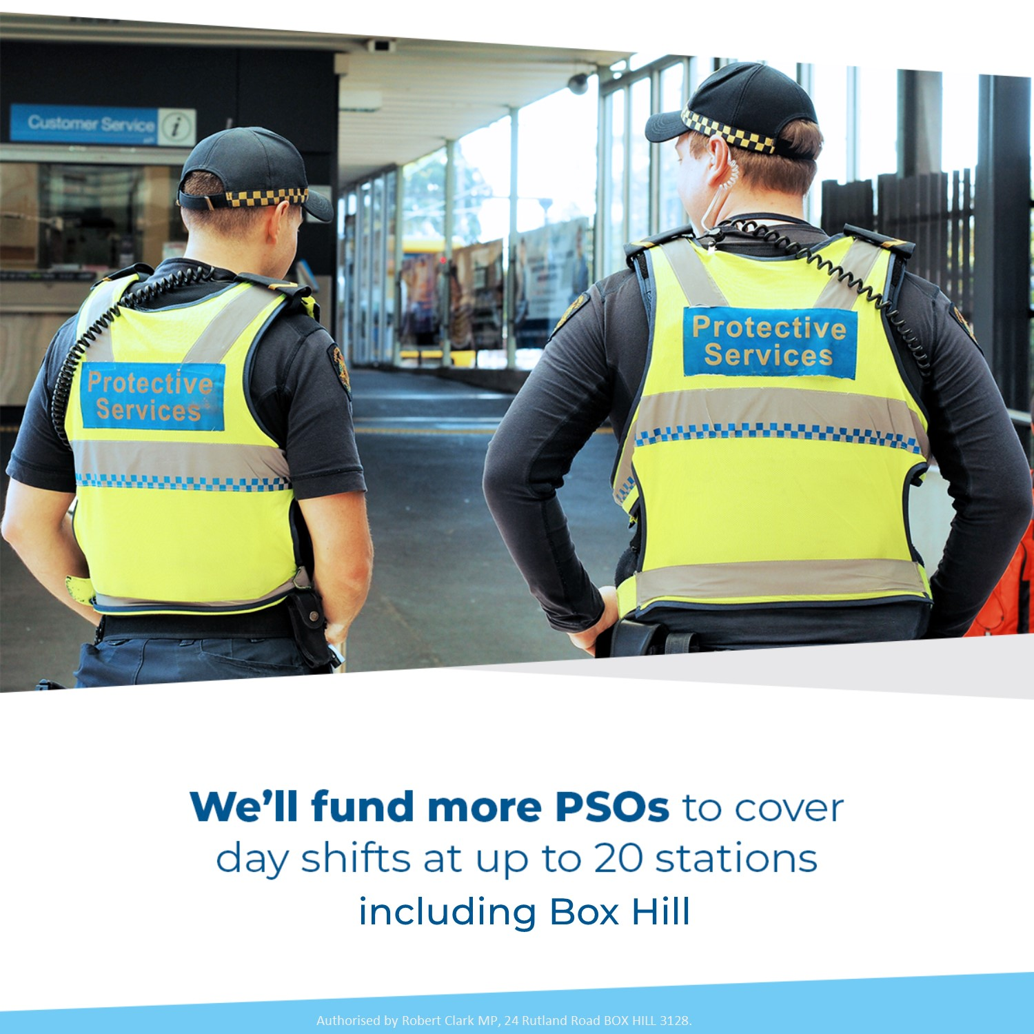 Daytime PSOs for Box Hill