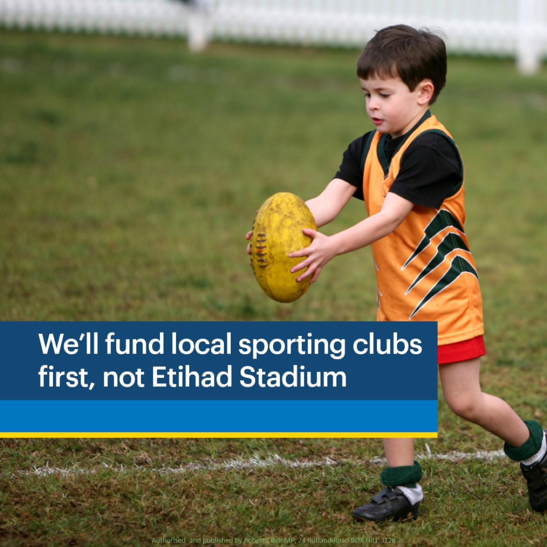Liberals' $195m grassroots sports fund