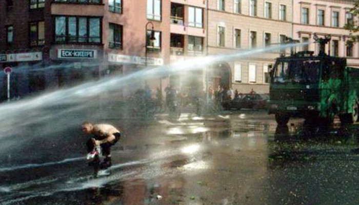 No to Water Cannon in London