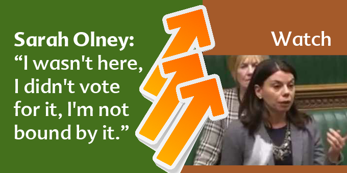 Sarah Olney's speech in the Article 50 debate