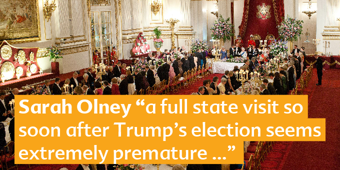 President Trump's State Visit