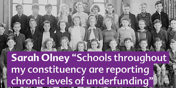 Schools face cuts to their budgets.