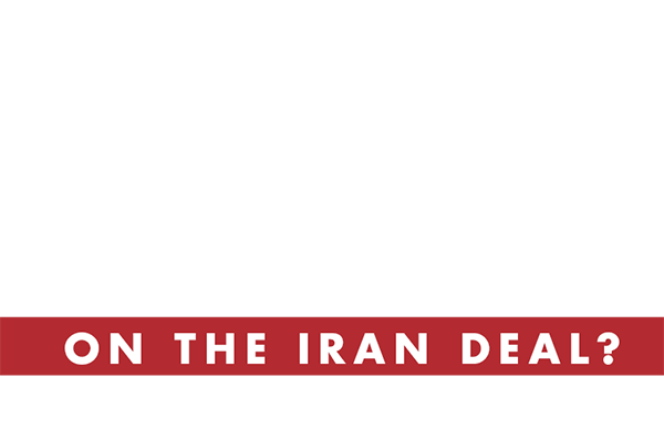 Who do you stand with on the Iran Deal? (select one)