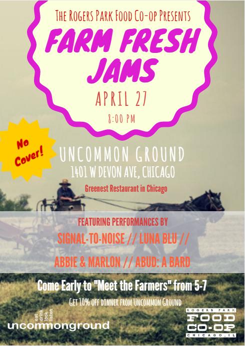 FFJams Poster