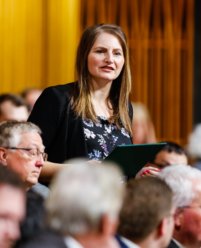 Statement: MP Rosemarie Falk will not support Liberal Throne Speech