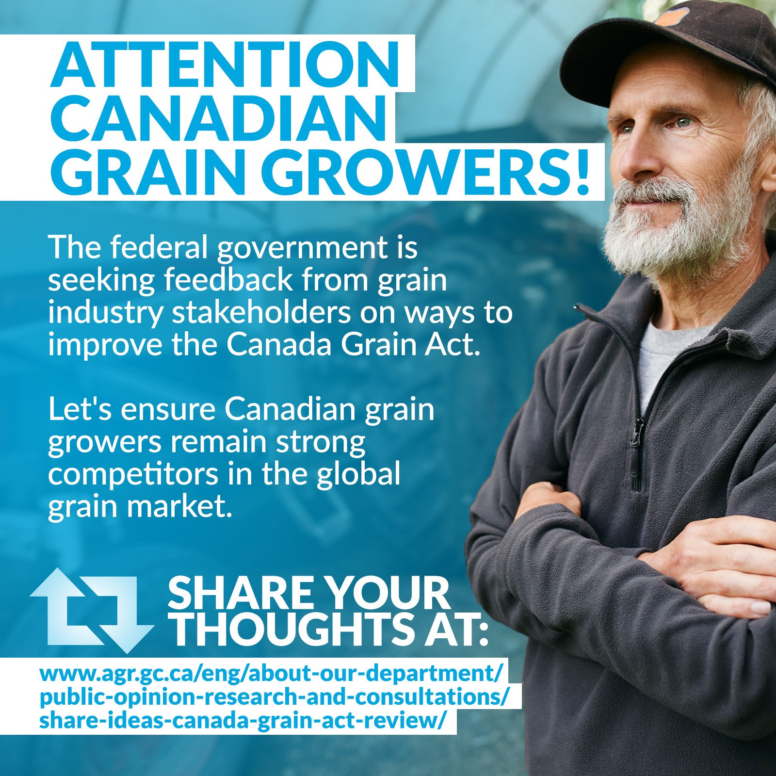 Have your say on the Canada Grain Act