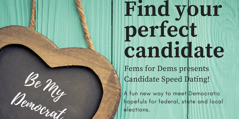 Candidate Speed Dating - Feb 7