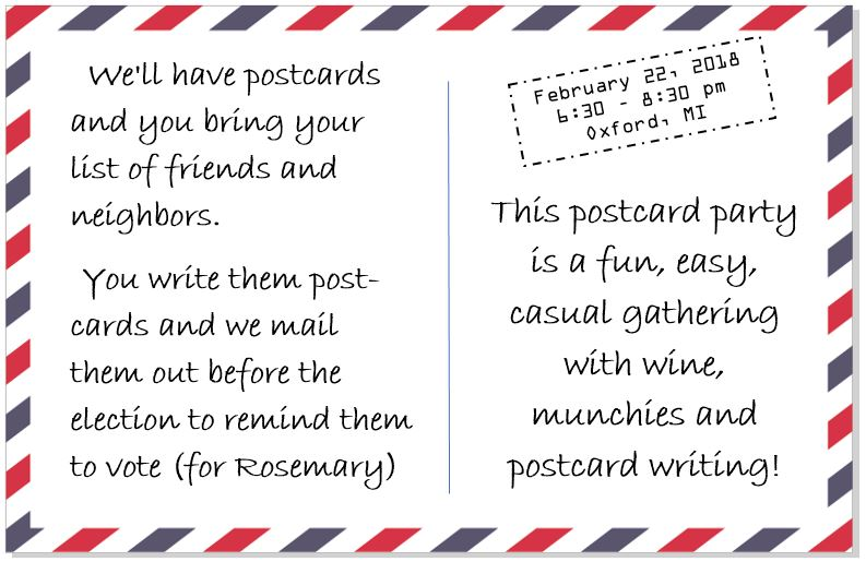 Postcard Party II