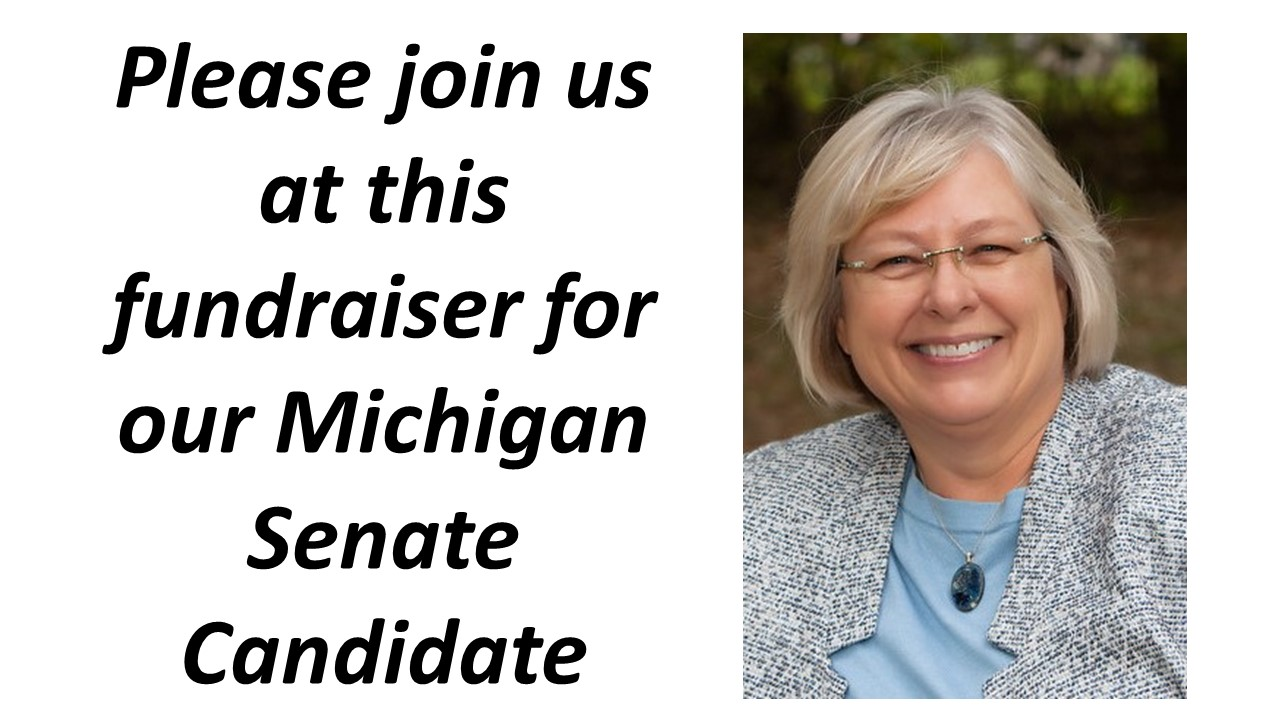Rosemary Bayer, candidate for MI State Senate, District 12