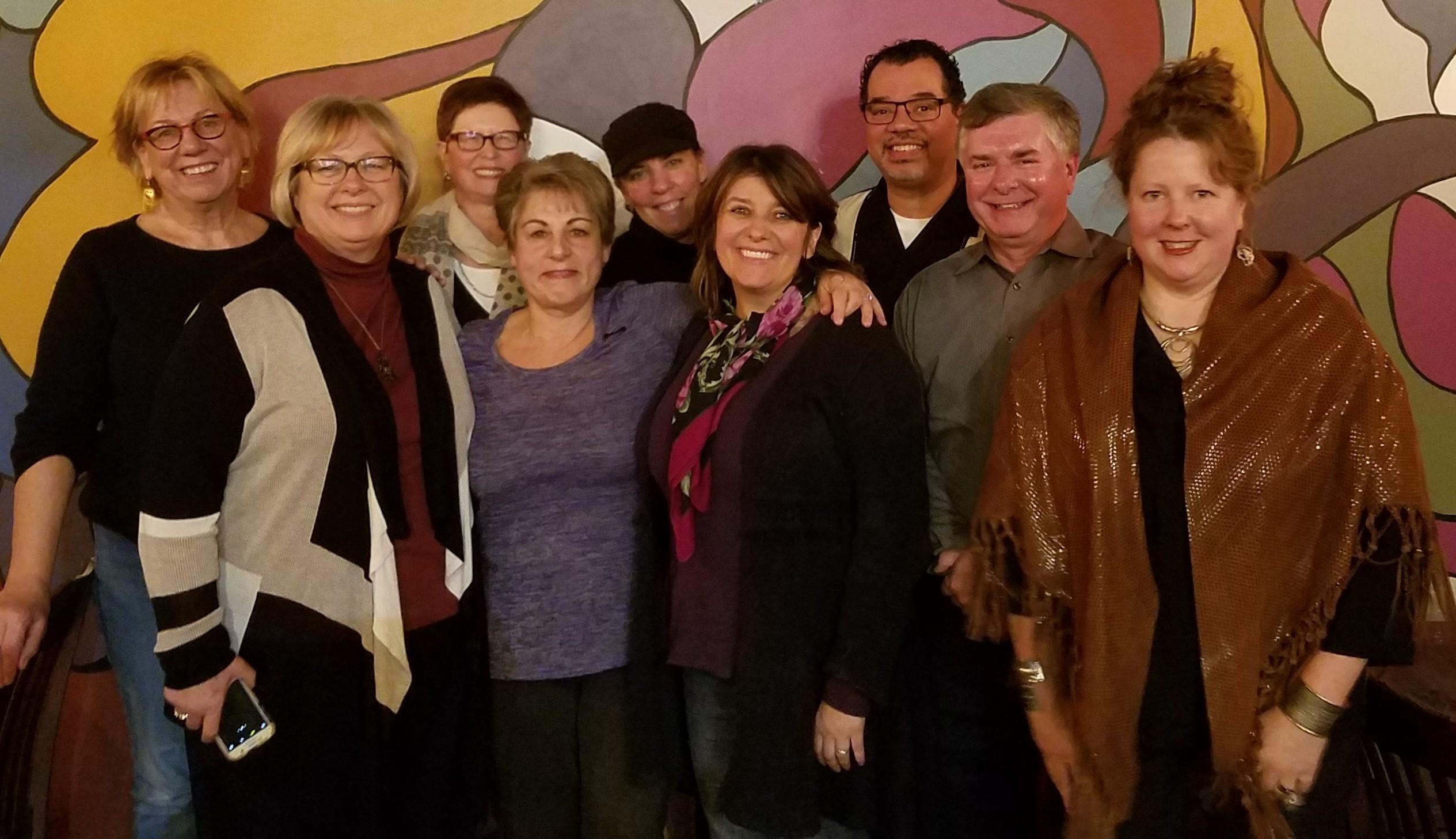 Happy Rosemary for Senate Campaign volunteers