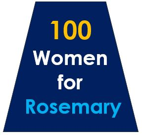 100 Women for Rosemary