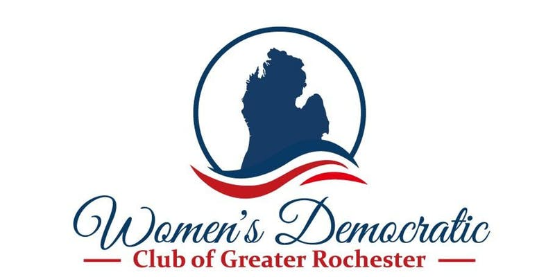 Women's Democratic Club of Greater Rochester logo