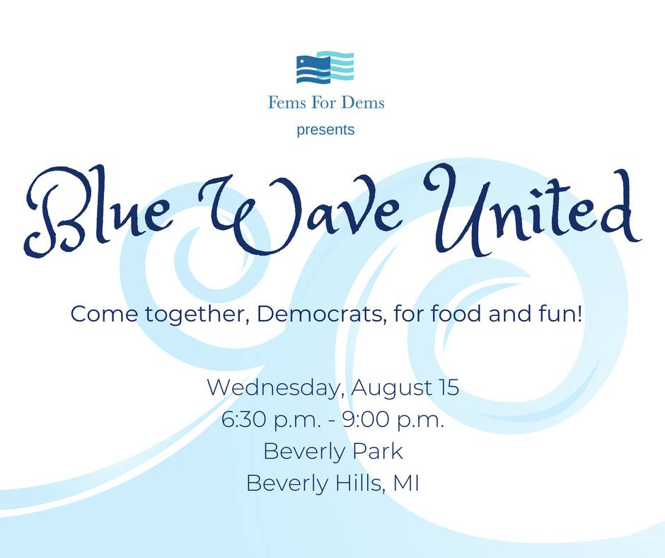 Fems for Dems' Blue Wave United