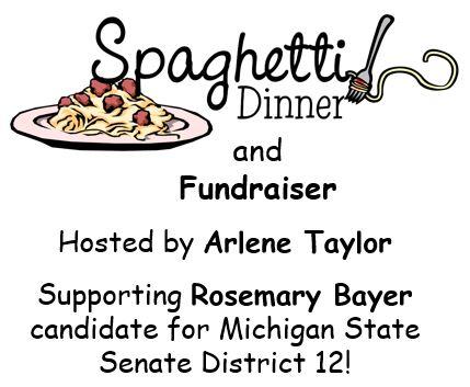 Yum, yum spaghetti