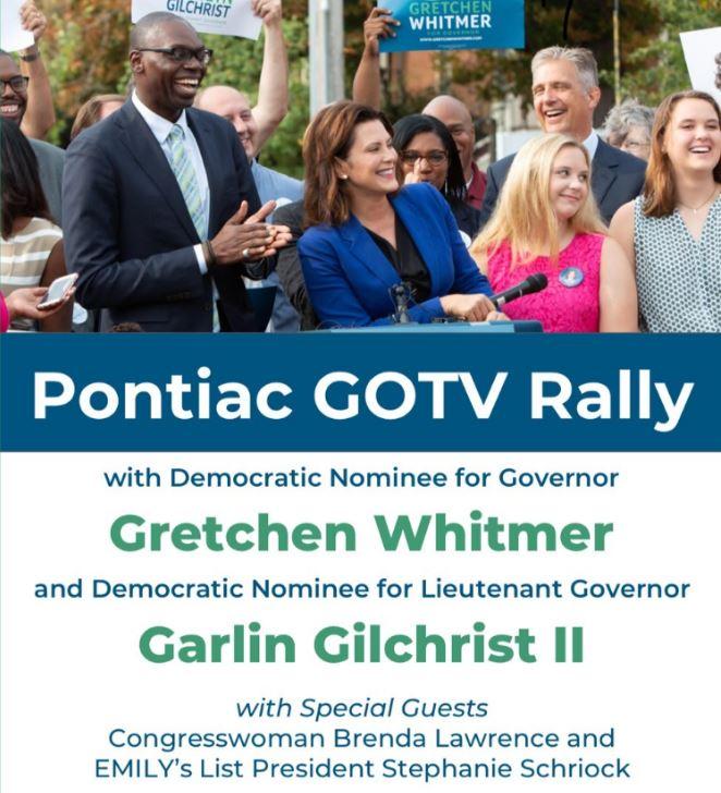 Pontiac GOTV Rally