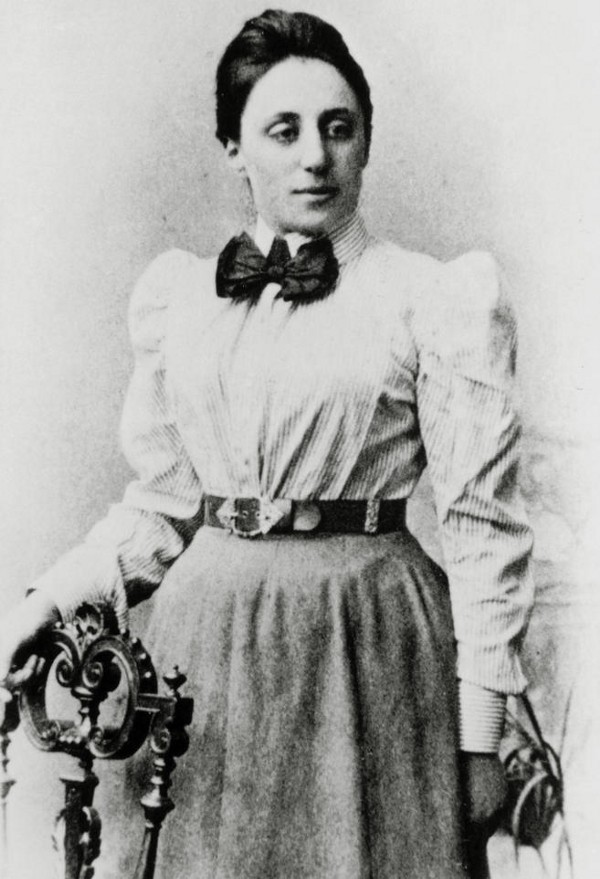 Emmy Noether (photo via Cosmos Magazine / Getty Images)