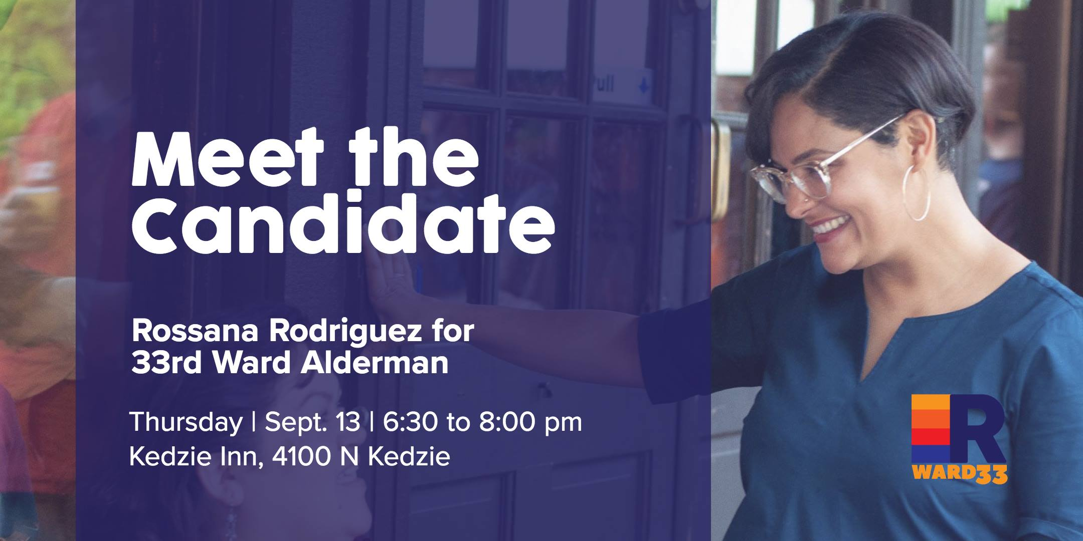 Meet the Candidate with Rossana Rodriguez for 33rd Ward Alderman