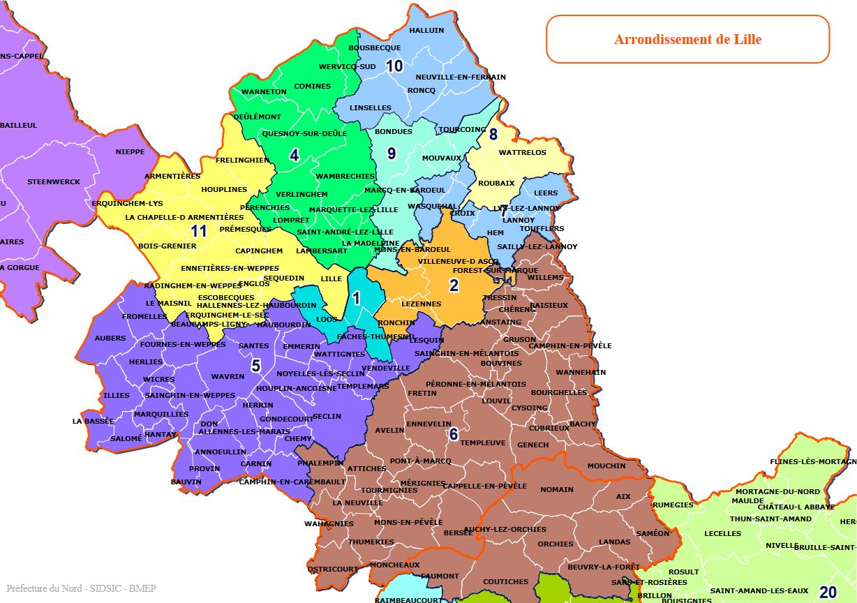 8ème circonscription du nord