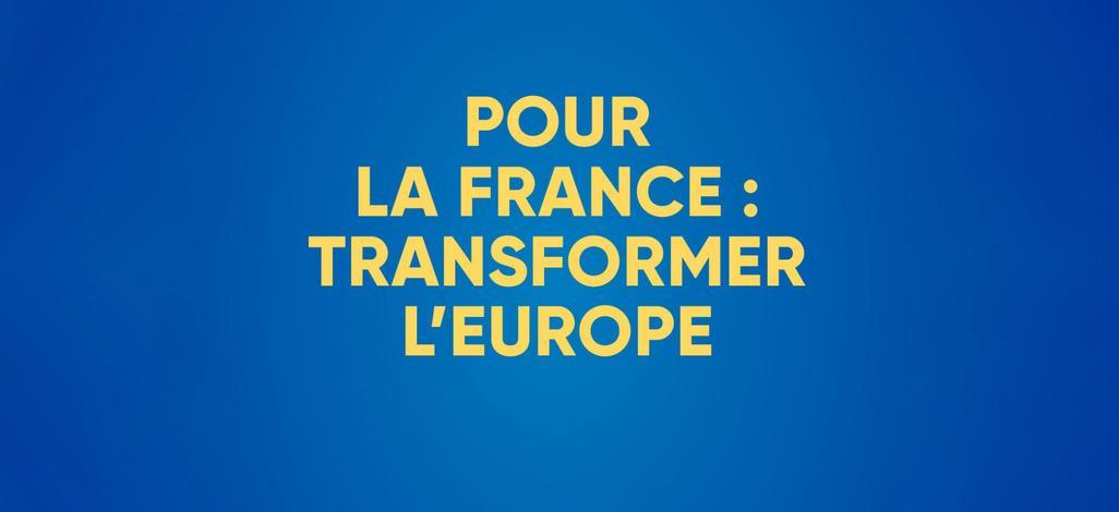 Projet LR Europe