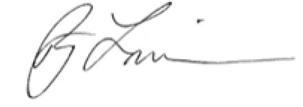 Assemblyman Roy Freiman signature
