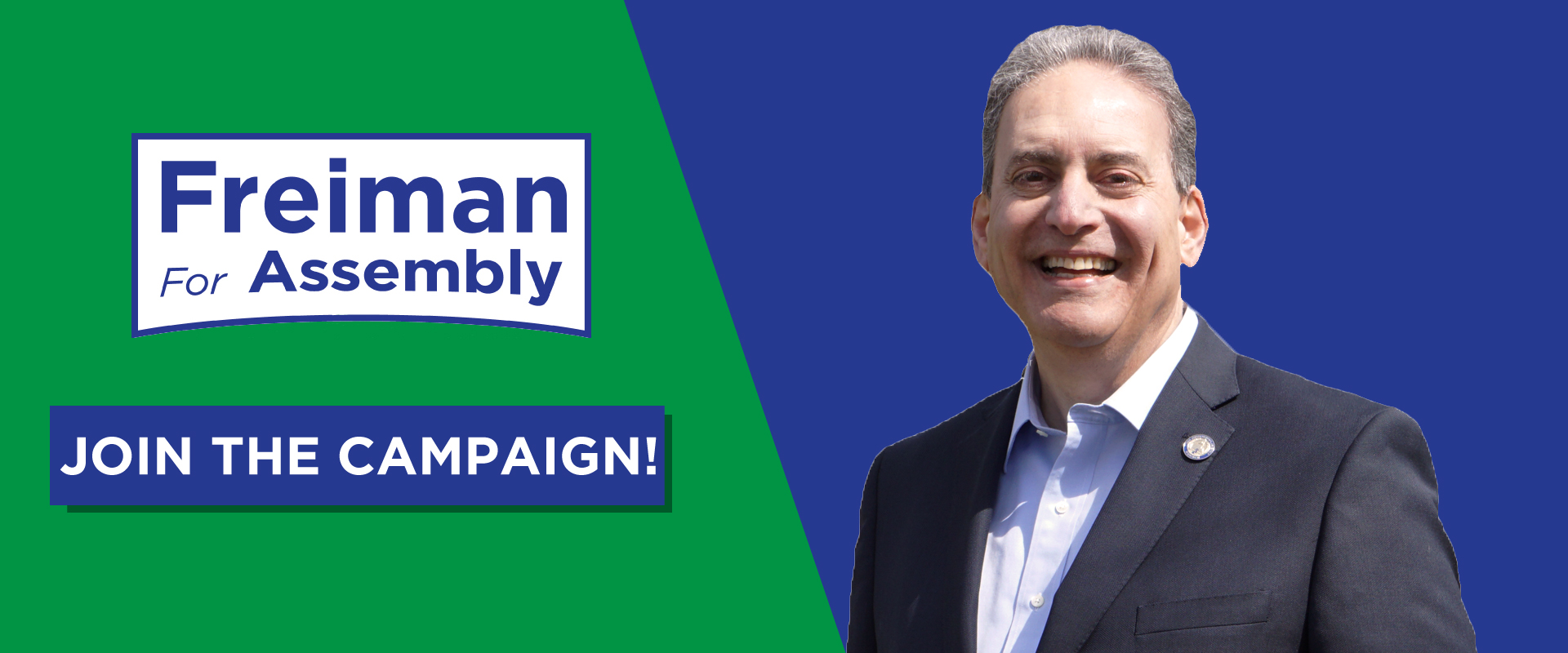 Assemblyman Roy Freiman of New Jersey's 16th Legislative District: Join the Campaign