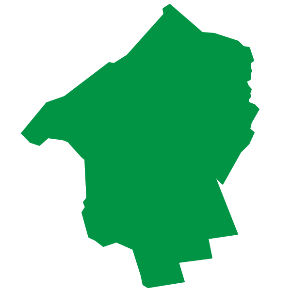 Outline map of Hunterdon County, New Jersey  represented by Roy Freiman for Assembly