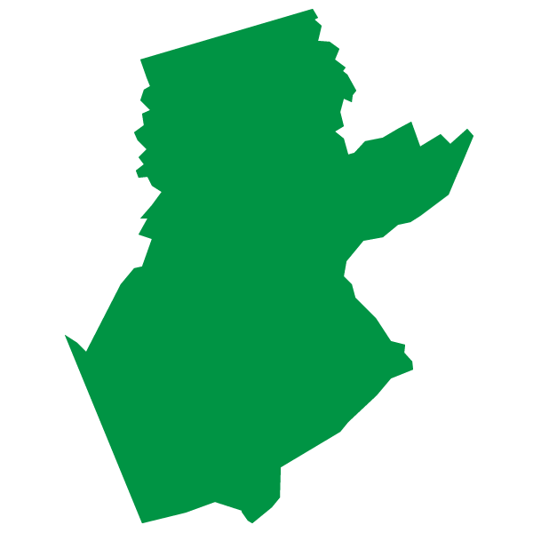 Map of Somerset County, New Jersey  represented by Roy Freiman for Assembly