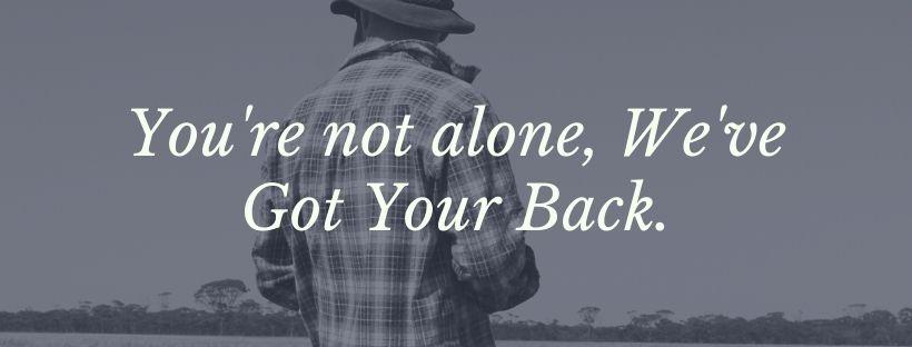 We've Got Your Back Image