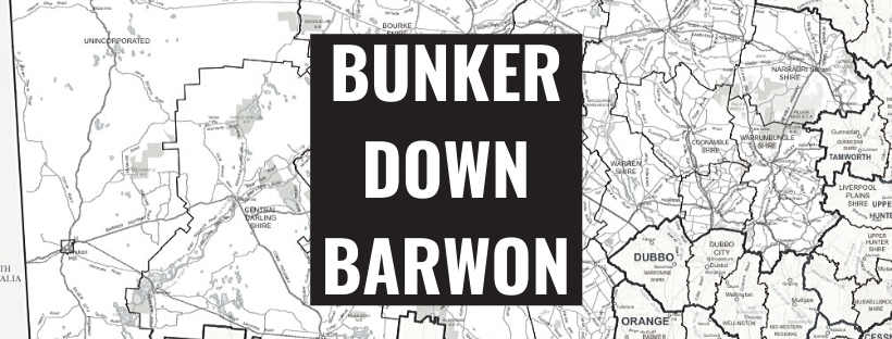Bunker down Barwon - or pay the fine Image