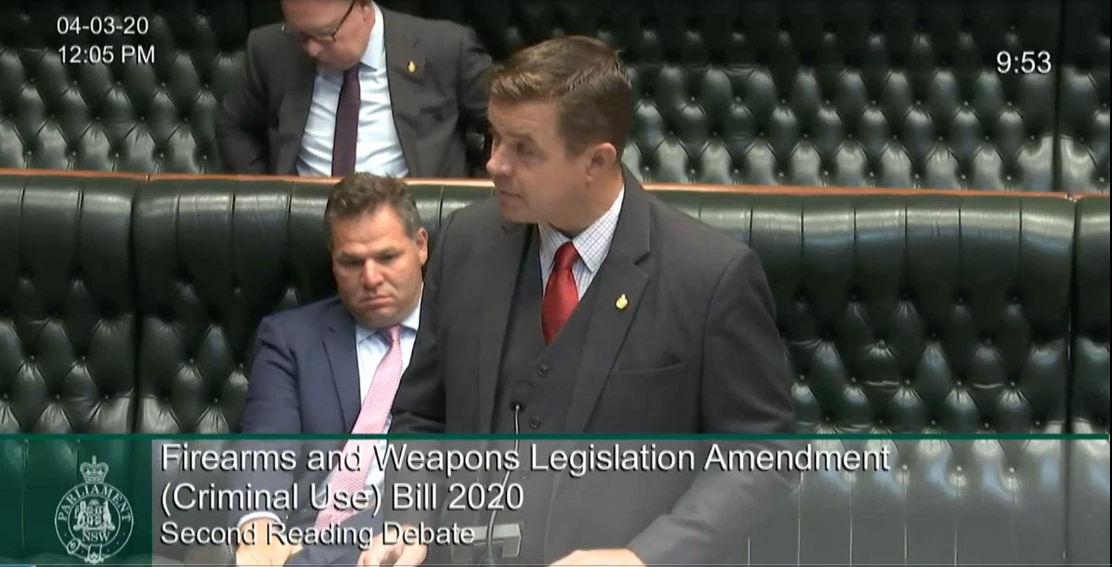 Bills - Firearms and Weapons Legislation Amendment (Criminal Use) Bill 2020 Image