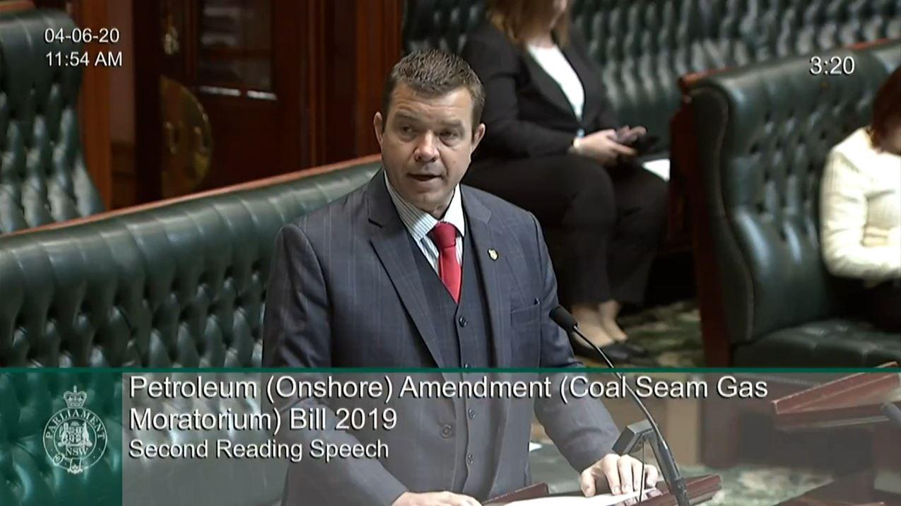 Bills - Petroleum Onshore Amendment Coal Seam Gas Moratorium Bill 2019 Image