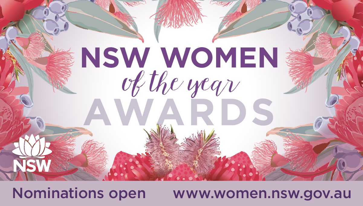 Nominate now for NSW Women of the Year Awards  Image