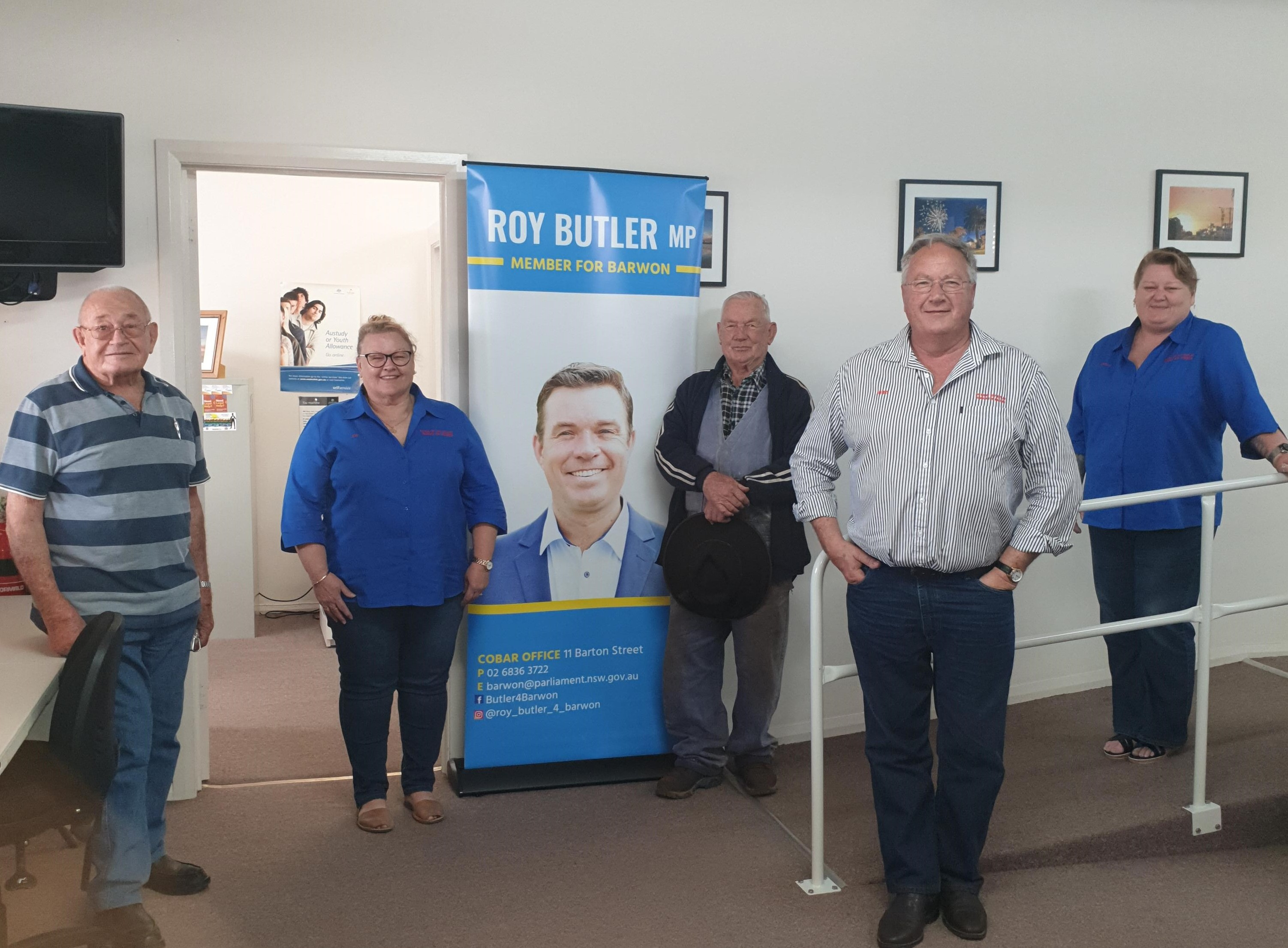 Mobile office visits across the electorate Image