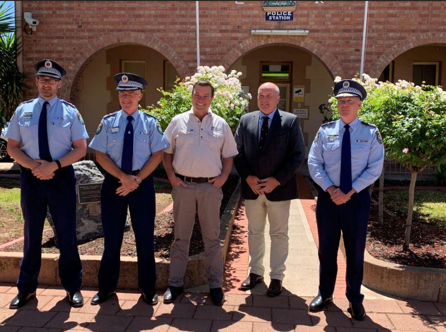 New Broken Hill Police Station on Blende Street Image