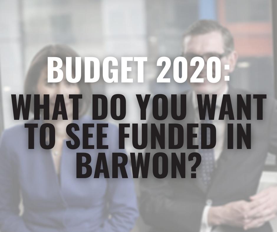 Budget must deliver for Barwon Image