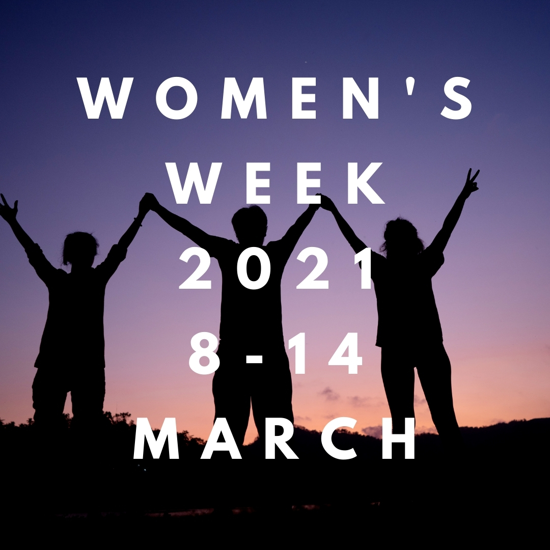 Funding support for Women's Week events Image