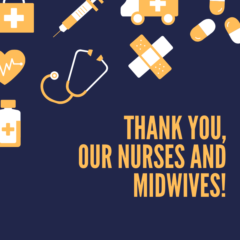 Celebrating and supporting our Nurses and Midwives Image