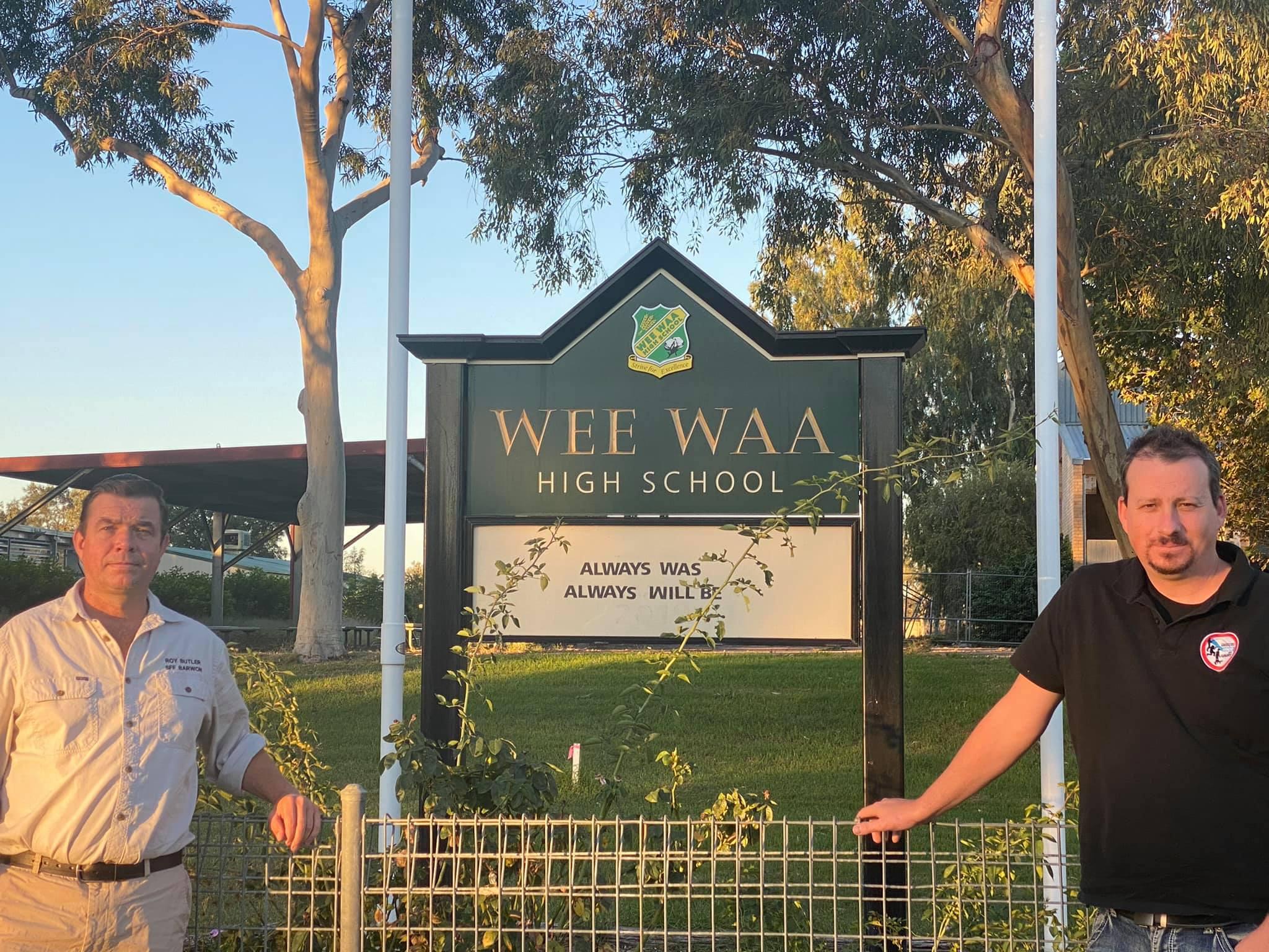 Wee Waa High School update Image