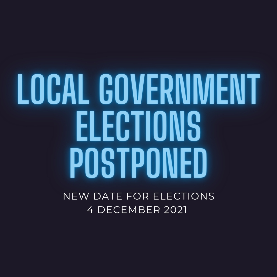 Local Government Elections postponed until December Image