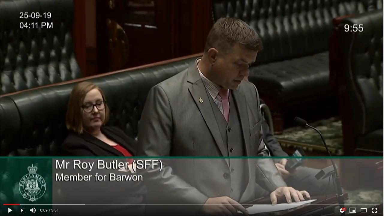 Bills - Second Reading Debate  - Right to Farm Bill 2019  Image