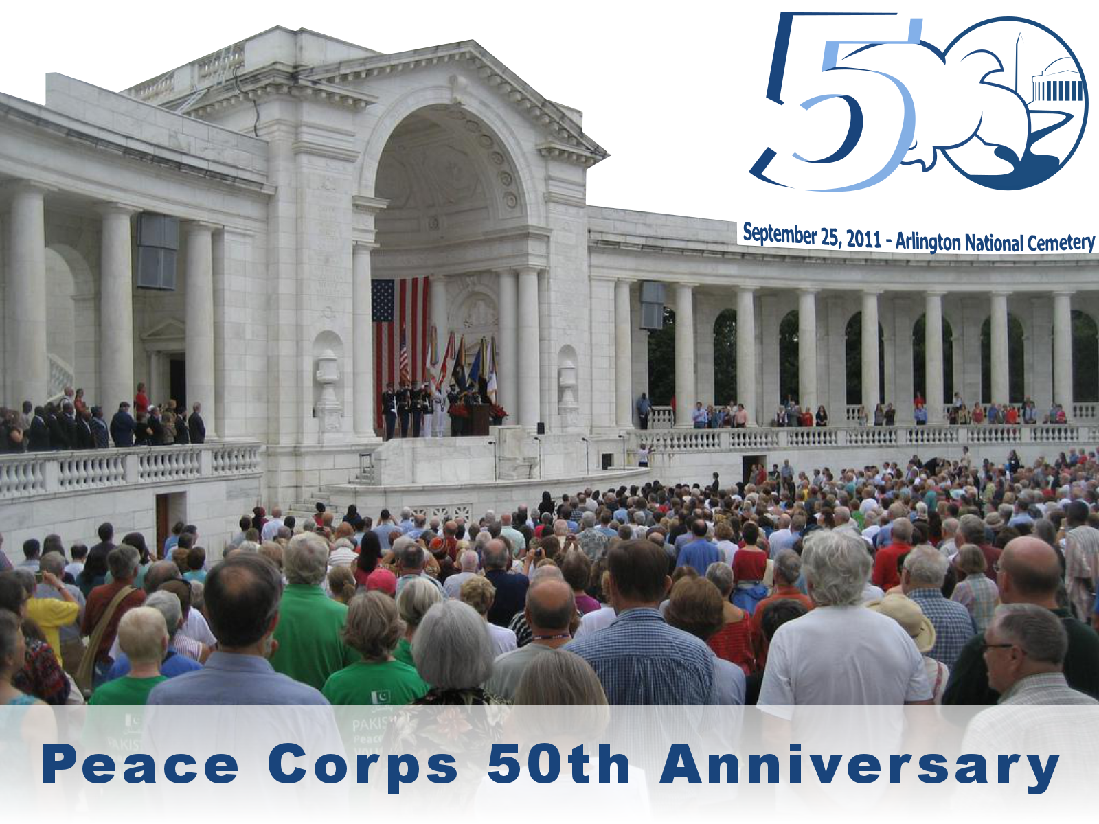 Peace corps 5oth anniversary