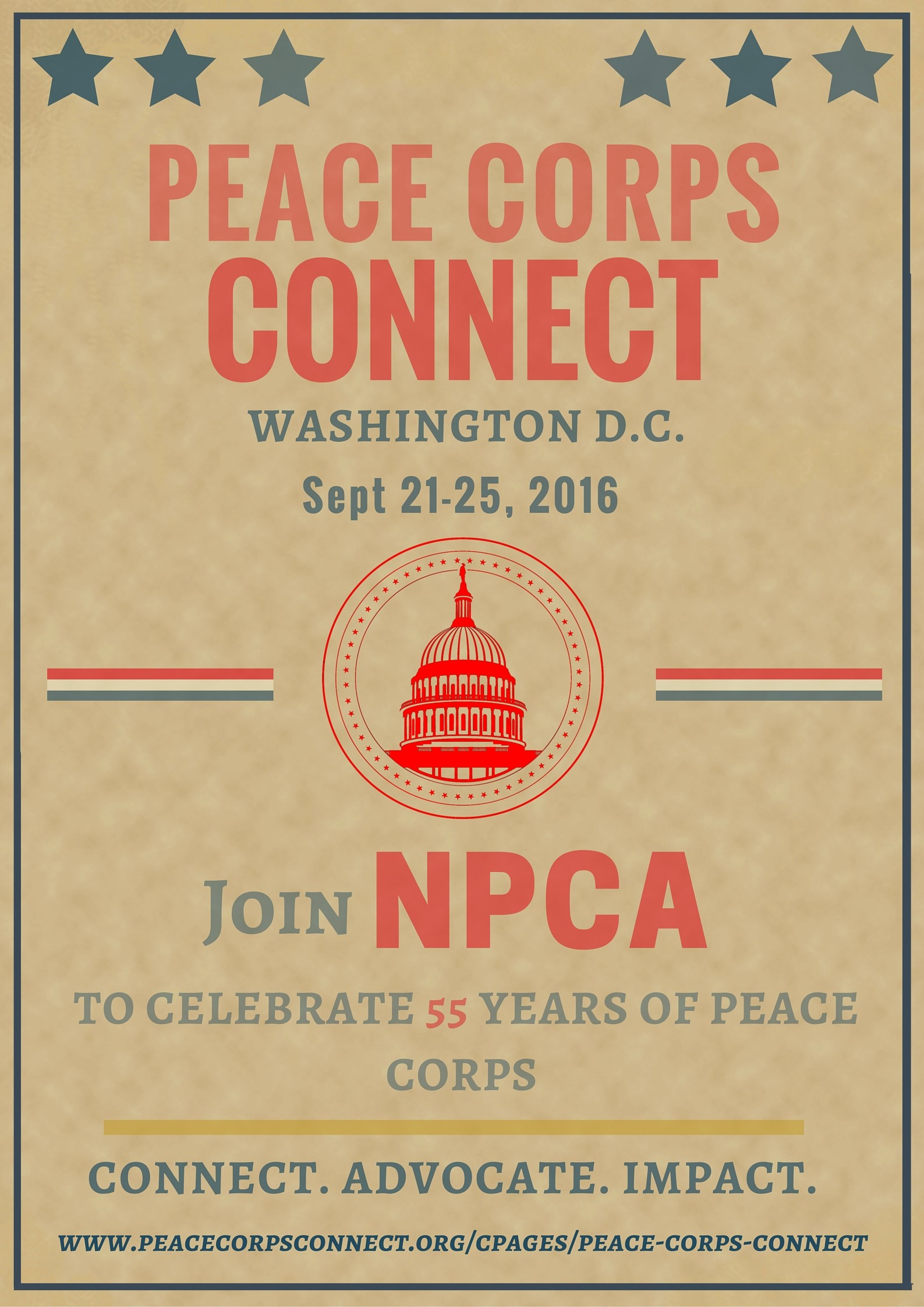 Peace Corps Connect 2016 Poster