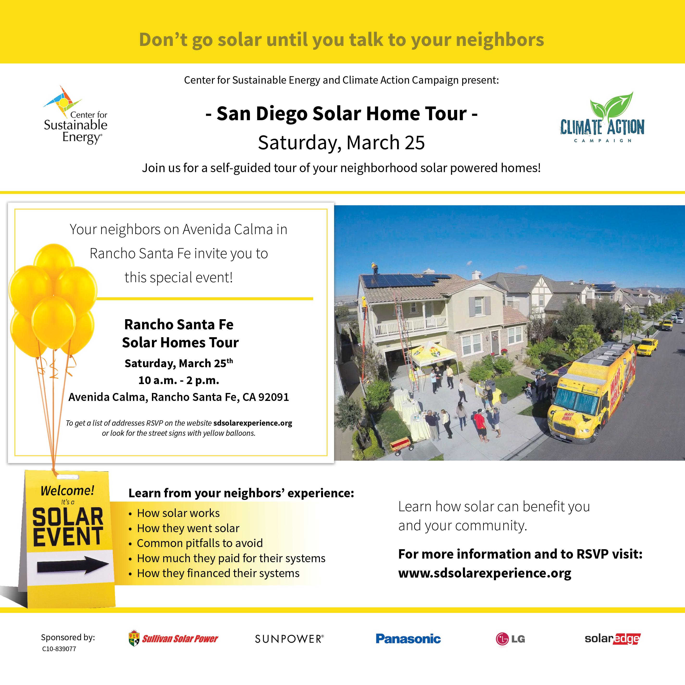 Solar Home Tours Avenida Calma
