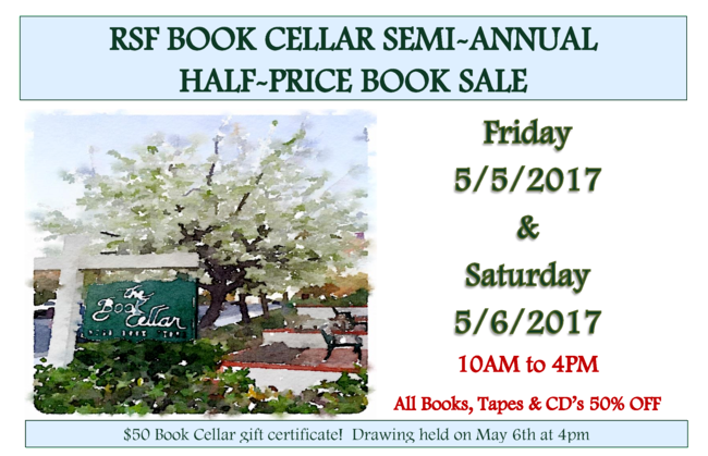 book cellar annual sale