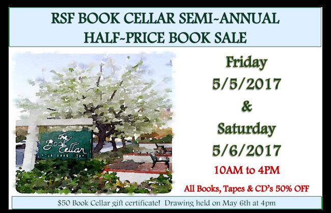 book cellar annual sale