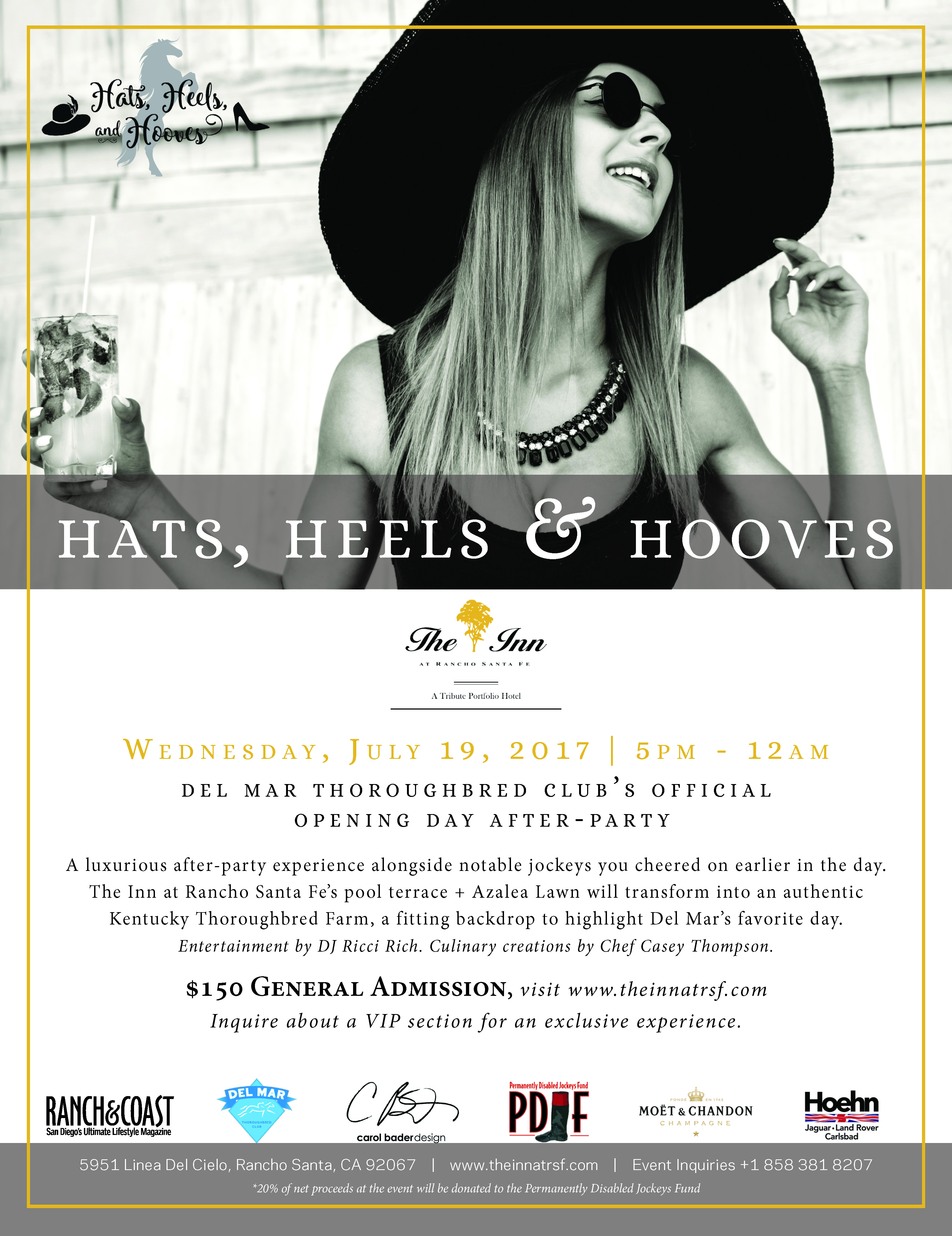 Hats, Heels & Hooves Party