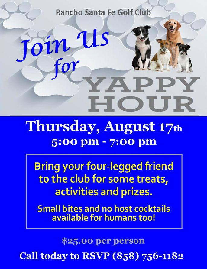 Yappy Hour August 17