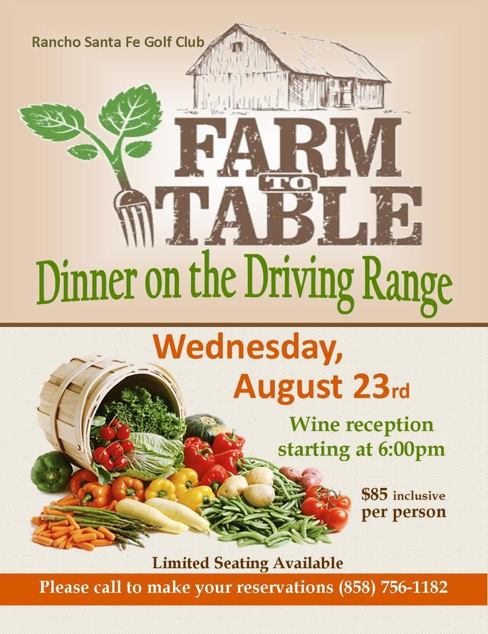 Farm to Table August 23